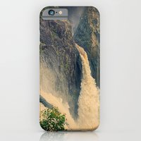 iPhone & iPod Case featuring Barron Falls in retro style by Wendy Townrow