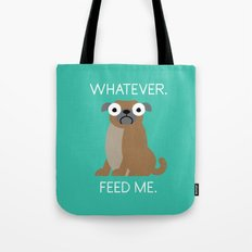 The Pugly Truth Tote Bag