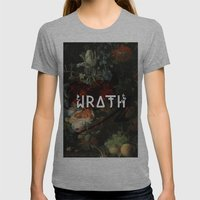 Wrath Womens Fitted Tee Athletic Grey SMALL