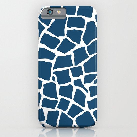 Mosaic Zoom Navy iPhone & iPod Case