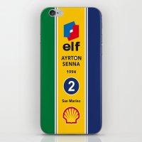 Senna, Grand Prix, Formula 1 World Championship iPhone 4 5 6, ipod, ipad case Samsung Galaxy iPhone & iPod Skin
