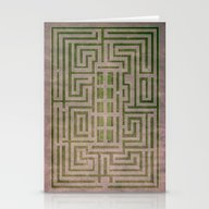 The Overlook Maze From T… Stationery Cards