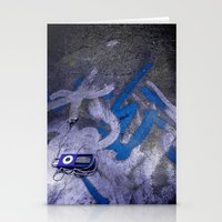 Street Music Stationery Cards