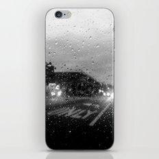 Rain in Ridgewood iPhone & iPod Skin