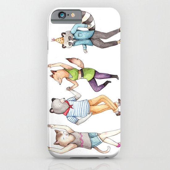 Party Animals iPhone & iPod Case