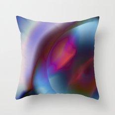 Color Vortex I Throw Pillow