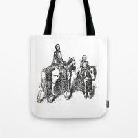 X-Ray Horsemen Tote Bag