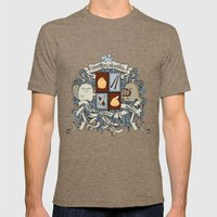 All Doodles Great & Smal… Mens Fitted Tee Tri-Coffee SMALL