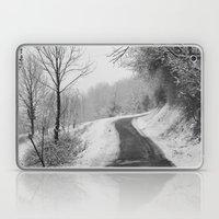 Winter Path Laptop & iPad Skin