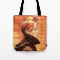 Bowie : Low Pixel Album … Tote Bag