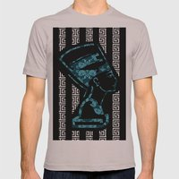 Nefertiti (version 2.0)  Mens Fitted Tee Cinder SMALL