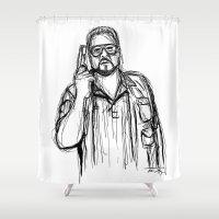 Walter Sobchak Shower Curtain