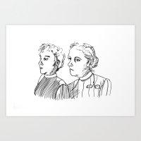 Frauen Art Print