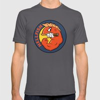The Flying Hellfish Mens Fitted Tee Asphalt SMALL