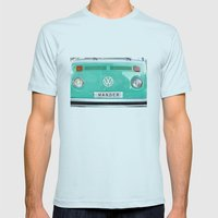 Wander Wolkswagen. Summe… Mens Fitted Tee Light Blue SMALL