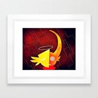 Dee Framed Art Print