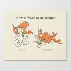Octobonnet Canvas Print
