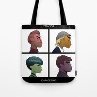 Garage Days Tote Bag
