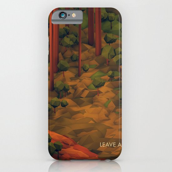 Leave A Trail iPhone & iPod Case