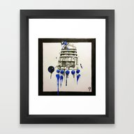Stir. Min. Iature. Framed Art Print
