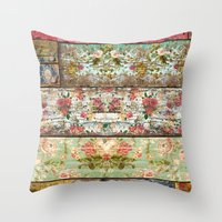 Lady Rococo Throw Pillow