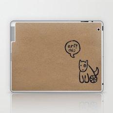 Arf means Hi! Laptop & iPad Skin