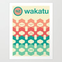 wakatu single hop Art Print