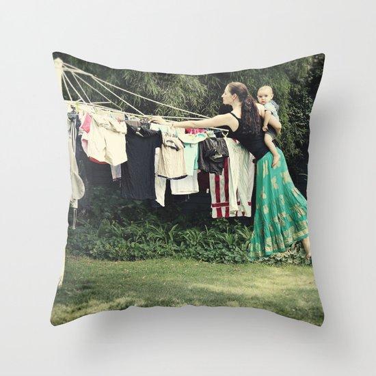 Secret Powers of a Supermom (I wish!) Throw Pillow