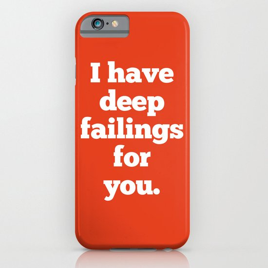Deep Failings For You iPhone & iPod Case