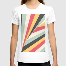 Twiangle Womens Fitted Tee White SMALL