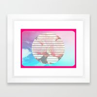 For You To Name Framed Art Print