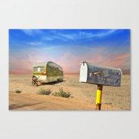 Trailer Heaven Canvas Print