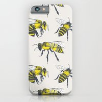 iPhone Cases featuring Bees by Tracie Andrews