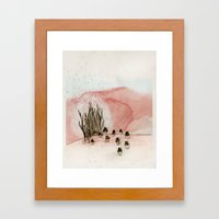 Something New Was Discov… Framed Art Print