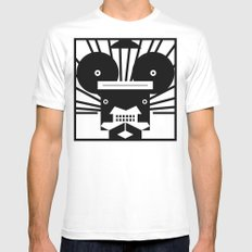 0002 Mens Fitted Tee SMALL White