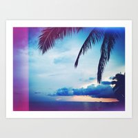 Hawaii is Home Art Print