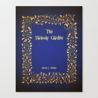 The Faraway Garden Title page Canvas Print