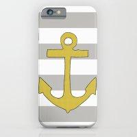 Golden Anchor iPhone 6 Slim Case