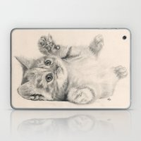Rub My Belly... Laptop & iPad Skin