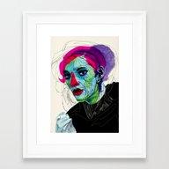Girl 02 Framed Art Print