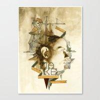The Architect Canvas Print