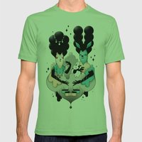 Les Aristos Mens Fitted Tee Grass SMALL