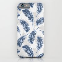 My blue feathers iPhone 6 Slim Case