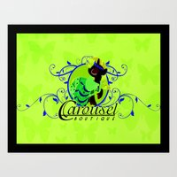 Carousel Boutique Art Print