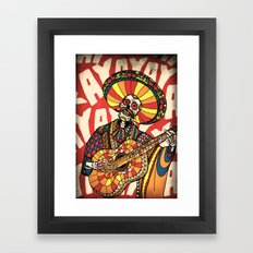 Mariachi Framed Art Print