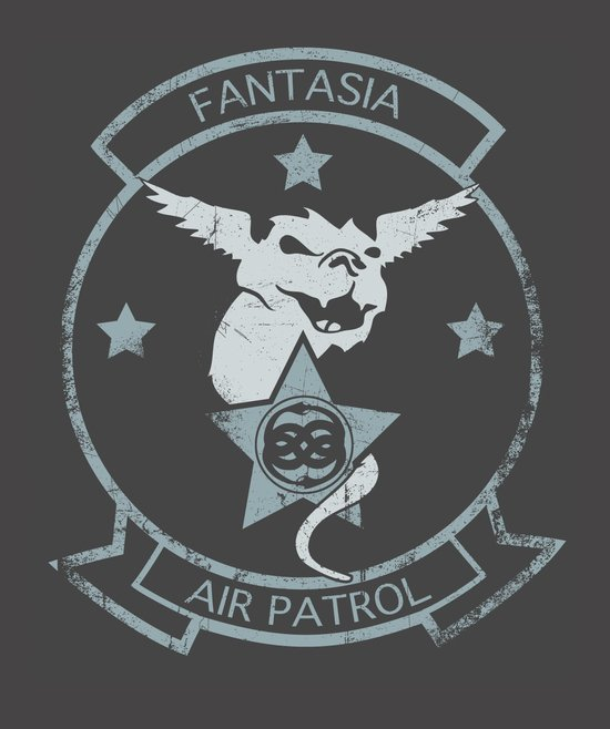 Fantasia Air Patrol Art Print