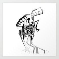 Consumer.. Art Print