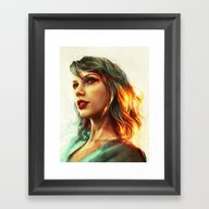 Framed Art Print featuring When The Sun Came Up by Alice X. Zhang