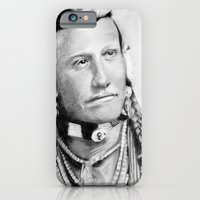 native american iPhone & iPod Cases featuring Native American by chomaee