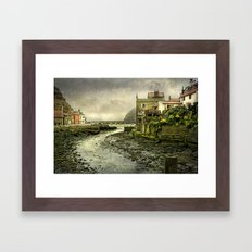 The Beck at Staithes Framed Art Print